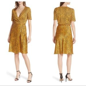 Diane Von Furstenberg Dresses - Diane von Furstenberg Floral-Print Wrap Dress